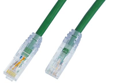 透明模成型网络跳线